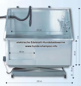 elektr-Hundebadewanne